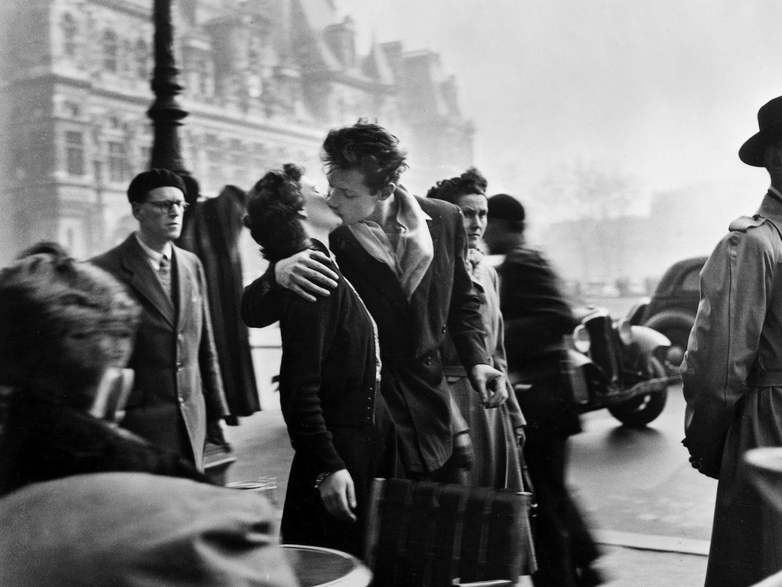 Il bacio di Doisneau